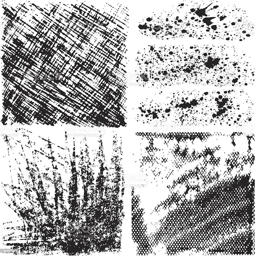 Grunge backgrounds. vector art illustration