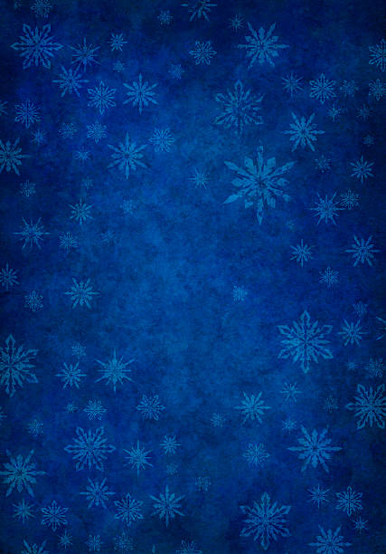grunge blue snowy background - textured effect stock illustrations