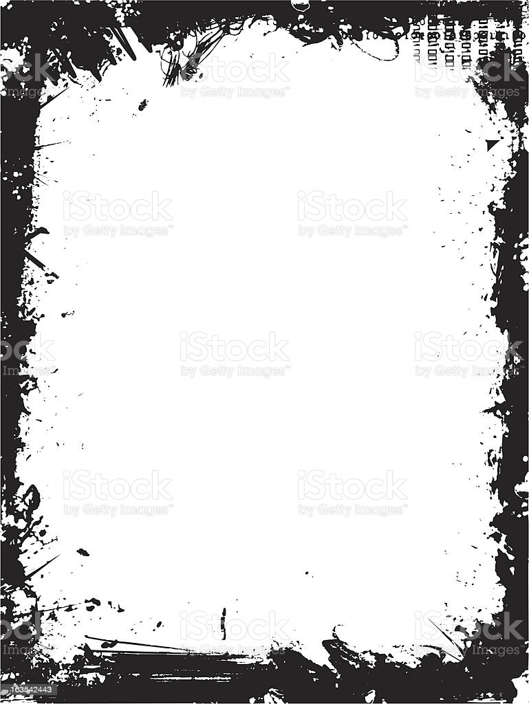 Grunge border royalty-free grunge border stock vector art & more images of abstract