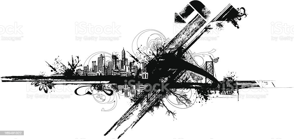 Grunge Design royalty-free grunge design stock vector art & more images of abstract