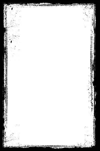 Grunge frame vector art illustration