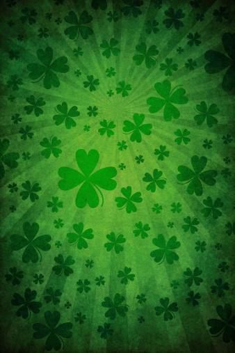 Grunge Green St Patrick Background Stock Illustration - Download Image Now