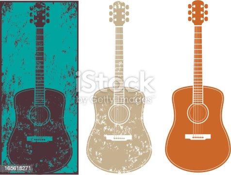 istock Grunge guitar three 165618271