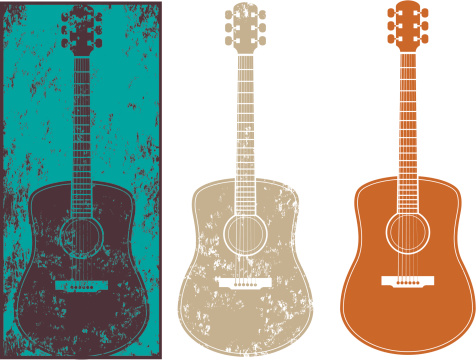 Grunge guitar three