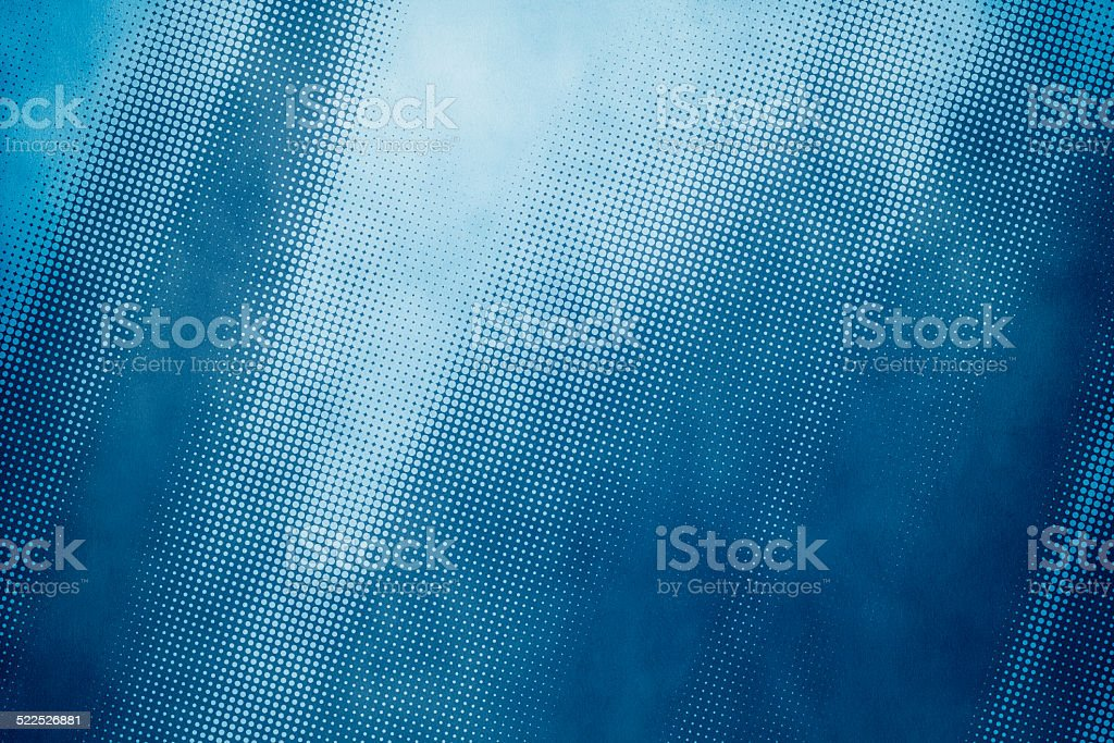 Grunge halftone background vector art illustration
