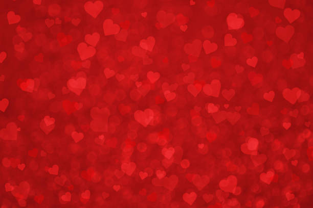 grunge piękny czerwony serce valentine tło - kartka na walentynki stock illustrations