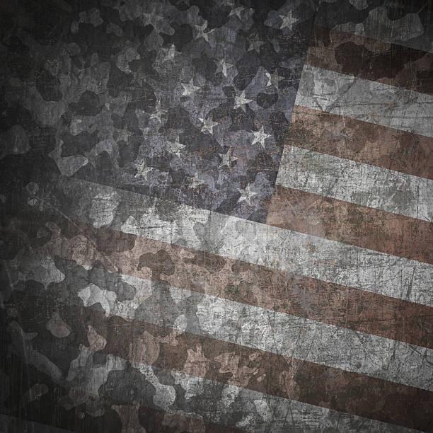 Grunge militärischen Hintergrund – Vektorgrafik