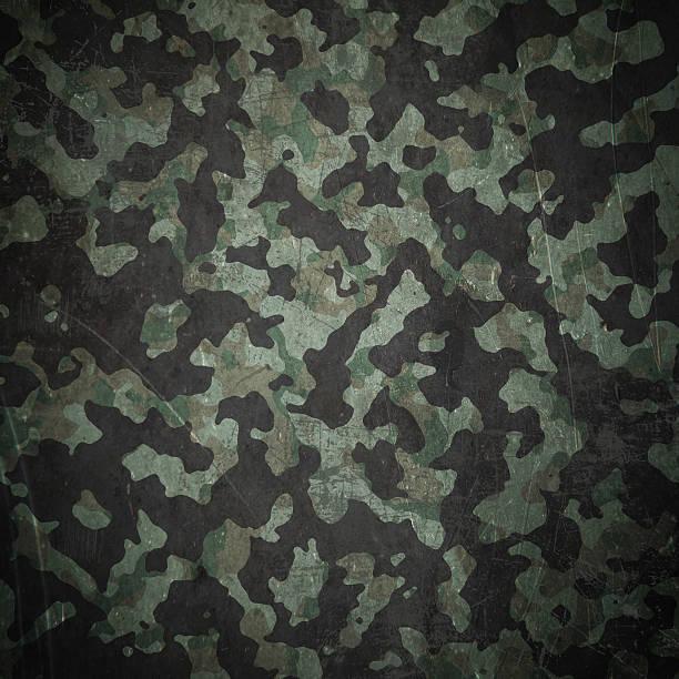 Grunge militärischen camouflage-Hintergrund. – Vektorgrafik
