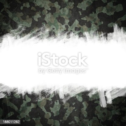 Grunge military camouflage background with space for text