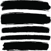 istock Grunge paint strokes 165962447