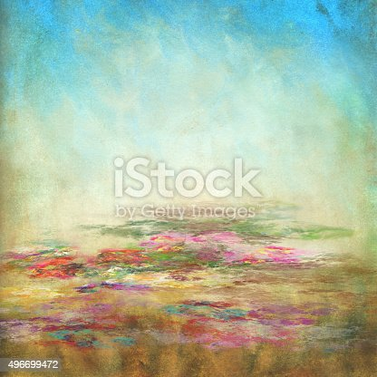 watercolor grunge painted background