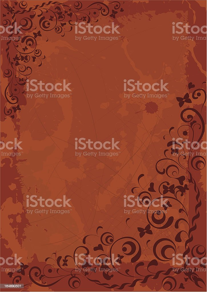 grunge paper background vector royalty-free stock vector art