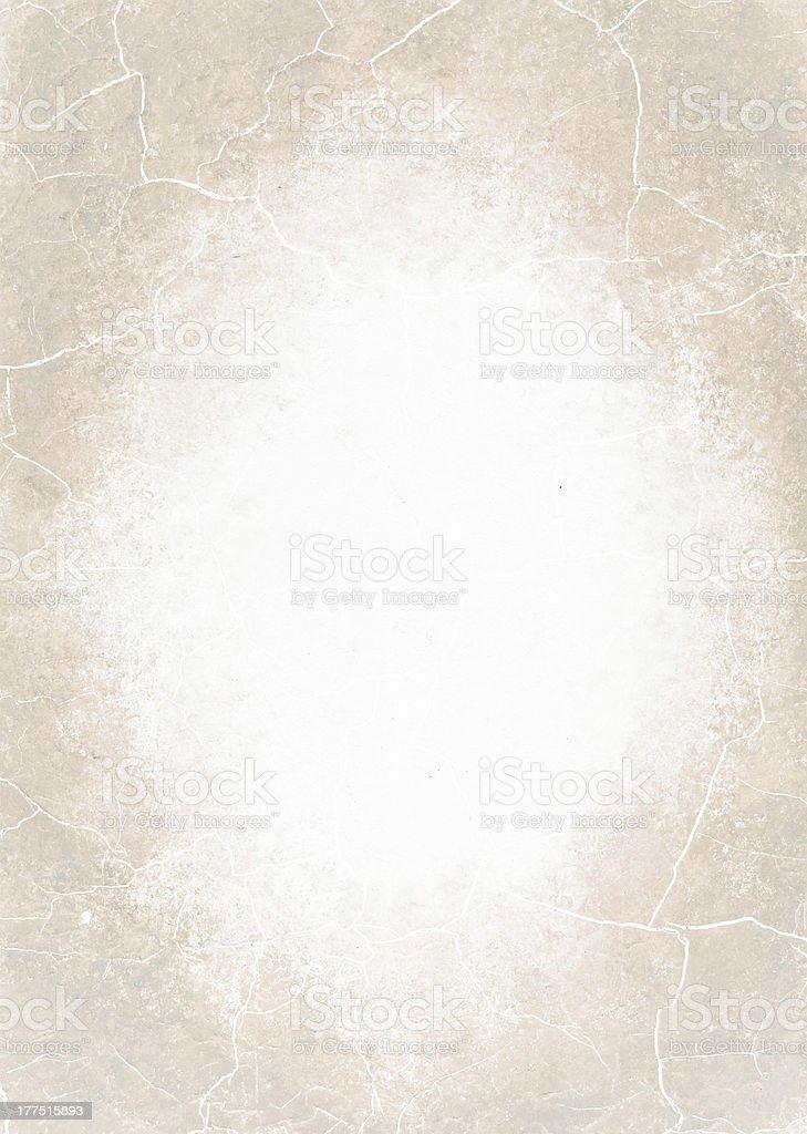 Grunge paper- light brown background vector art illustration