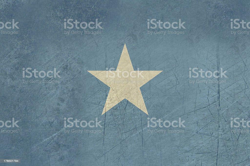 Grunge Somalia Flag royalty-free stock vector art