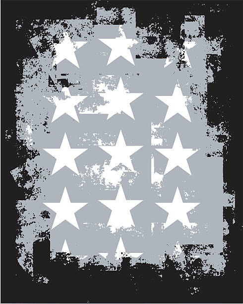 grunge-stars - punk stock-grafiken, -clipart, -cartoons und -symbole