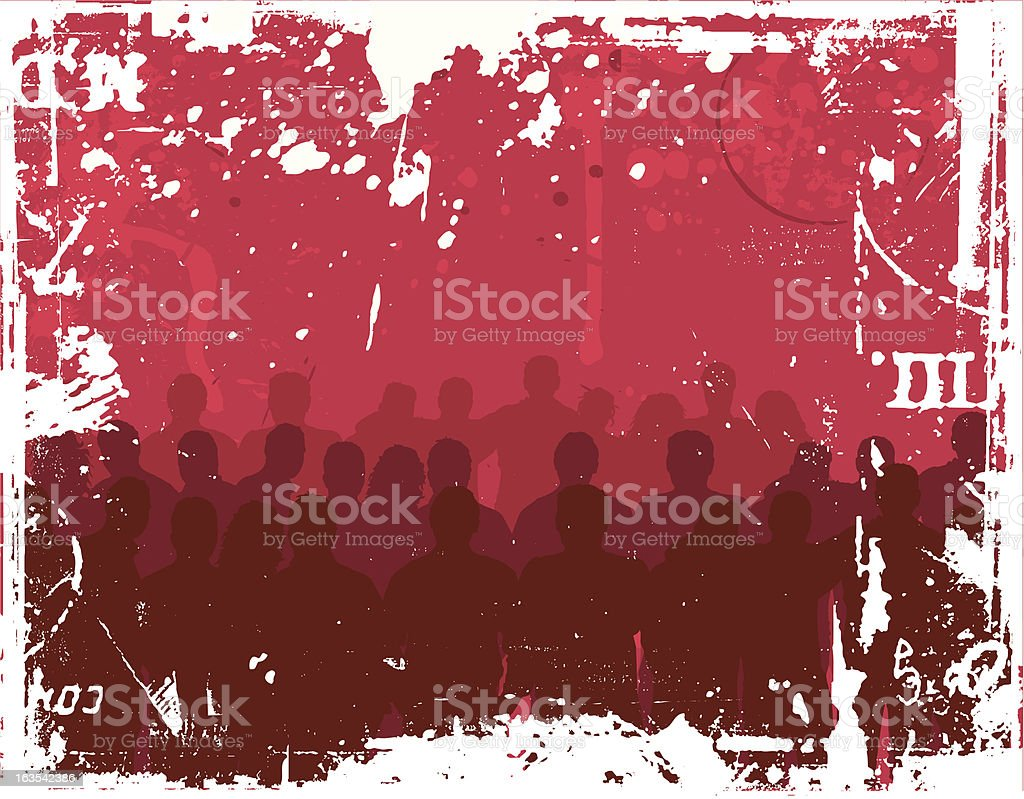 Grunge youth royalty-free stock vector art
