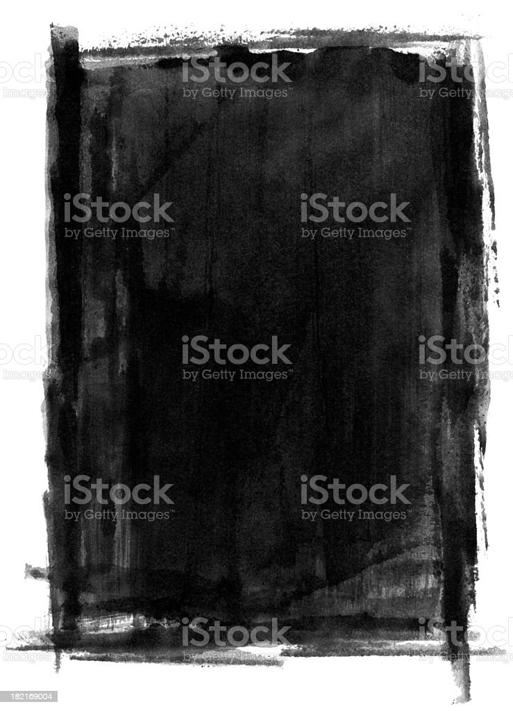 Grungy Painted Background royalty-free grungy painted background stock vector art & more images of abstract