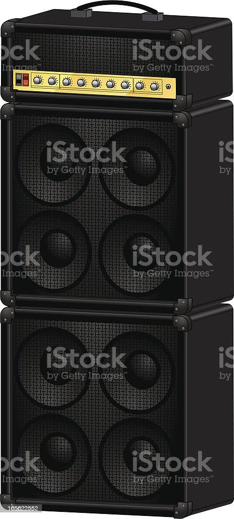 guitar amp royalty-free stock vector art
