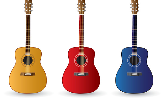 Guitar Stock Illustration - Download Image Now