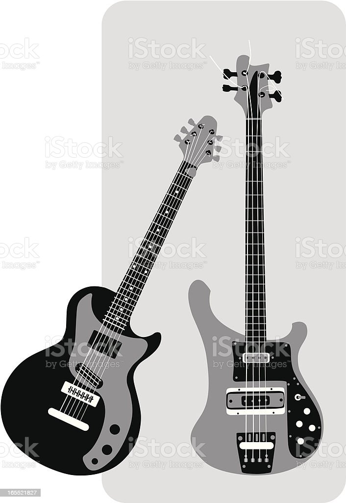 guitars royalty-free guitars stock vector art & more images of arts culture and entertainment