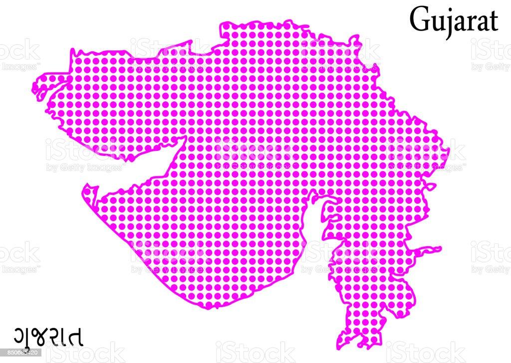 Carte Inde Ahmedabad.Carte De Gujarat Tout Type De Haute Qualite Vecteurs Libres