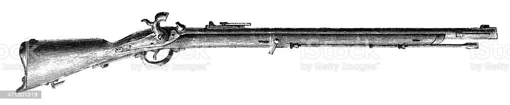 Gun vector art illustration