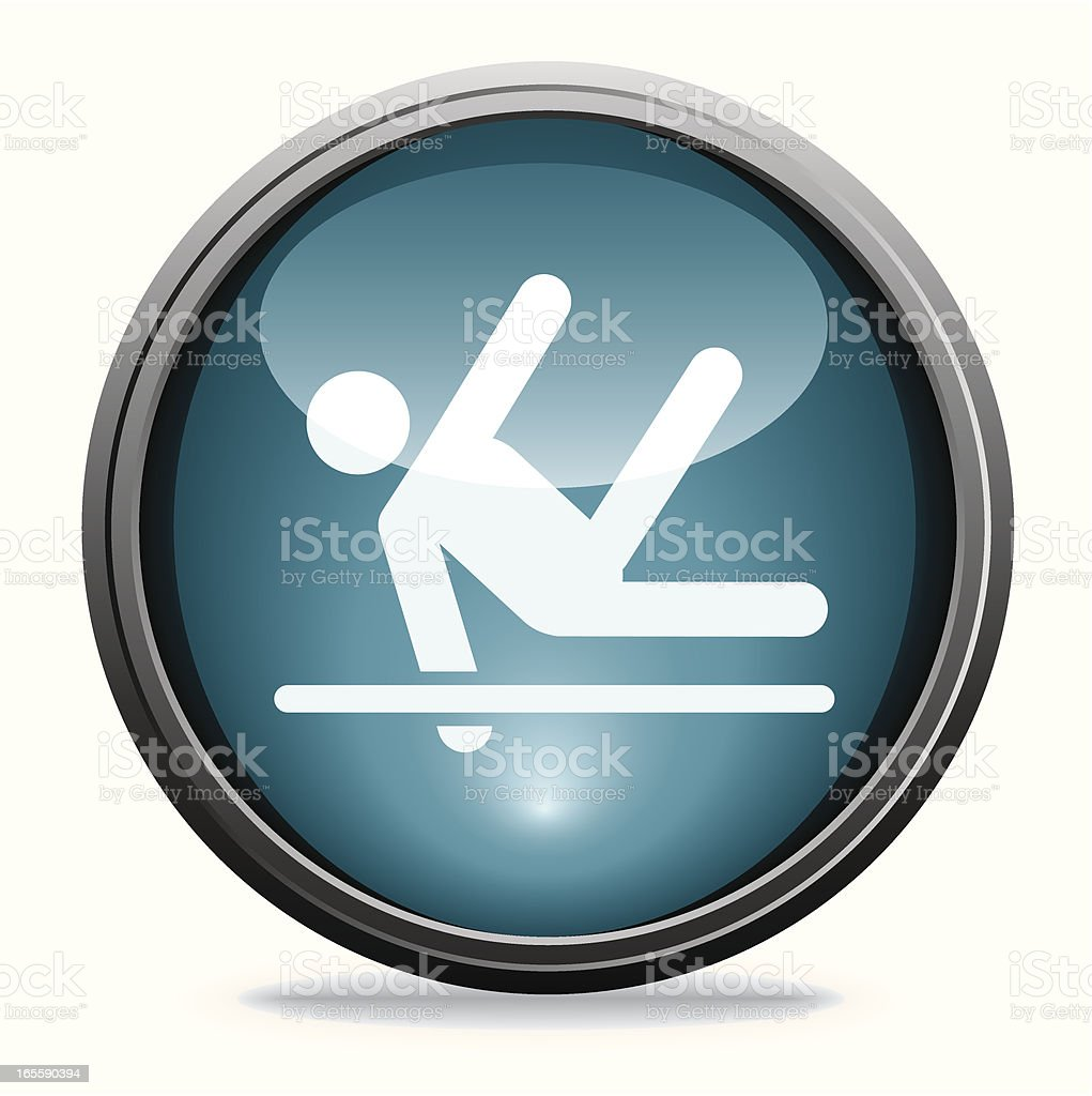 Gymnast | Glass Collection royalty-free stock vector art