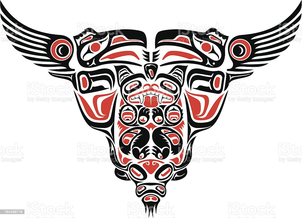 Haida style tattoo design royalty-free haida style tattoo design stock vector art & more images of american culture