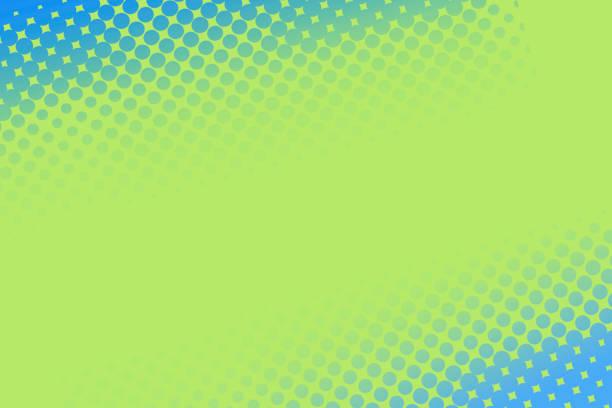 stockillustraties, clipart, cartoons en iconen met halve toon achtergrond-abstracte textuur aqua en groen - green background