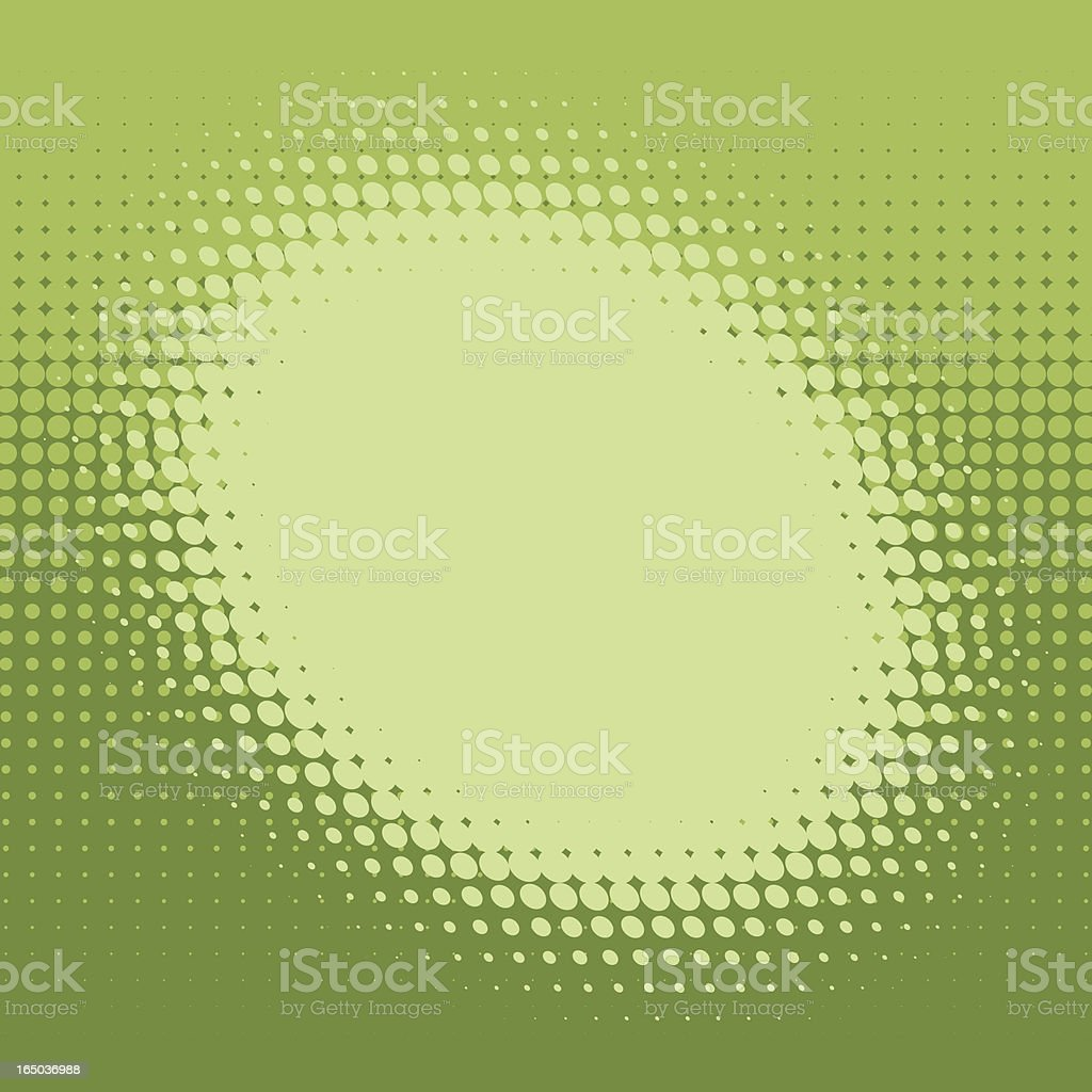 Halftone Circle royalty-free stock vector art