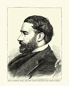 istock Halil Serif Pasha, Ottoman-Egyptian statesman, diplomat, 1870s, 19th Century 1300374917