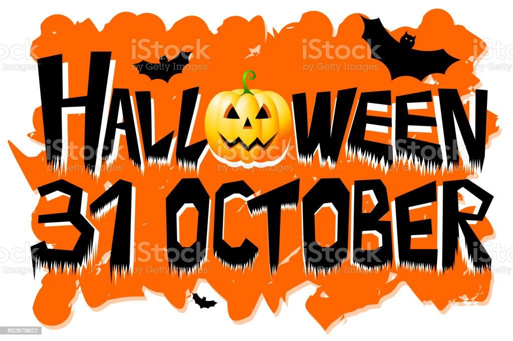 ハロウィンの 10 月 31 日 - ア...