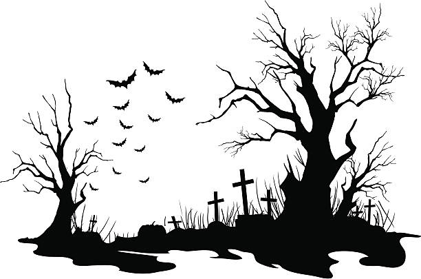 Cemetery Illustrations, Royalty-Free Vector Graphics ...