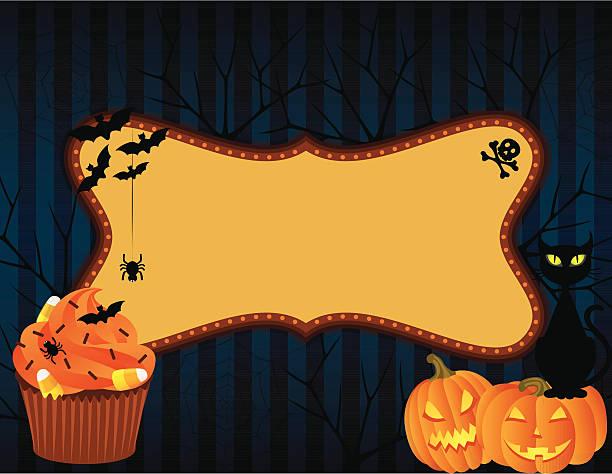 Halloween banner vector art illustration