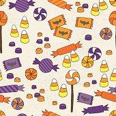 Halloween Candy Seamless