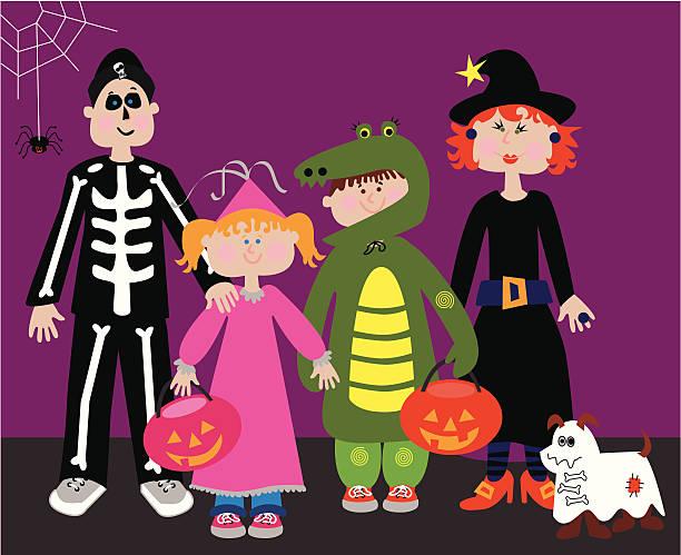Image result for family halloween clip art