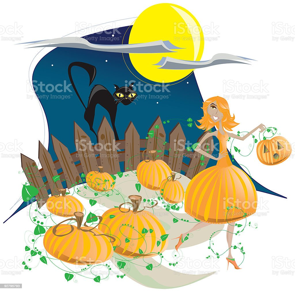 Halloween royalty-free stock vector art