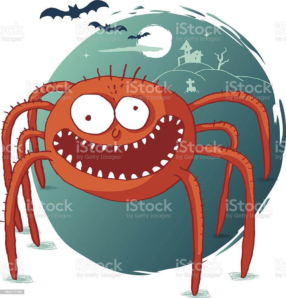 Halloween - Spider royalty-free stock vector art