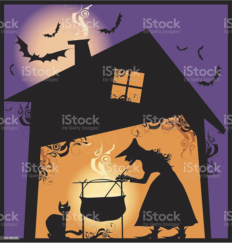 Halloween's meal royalty-free stock vector art