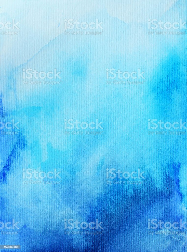 Hand drawn abstract watercolor background. vector art illustration