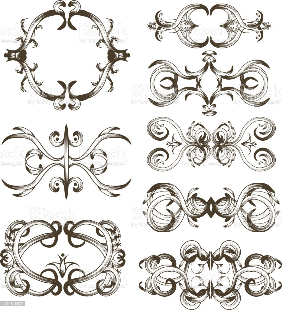 Hand drawn detailed ornament collection royalty-free hand drawn detailed ornament collection stock vector art & more images of abstract