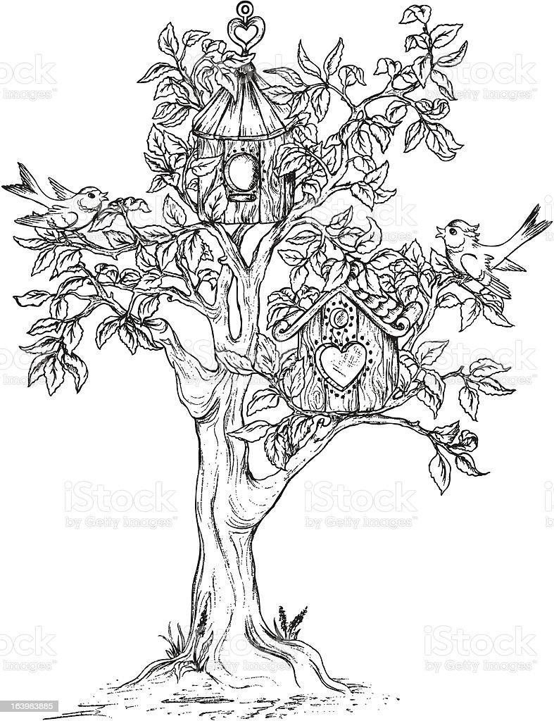 того, рисунок дерева интерпретация фото очень пышные
