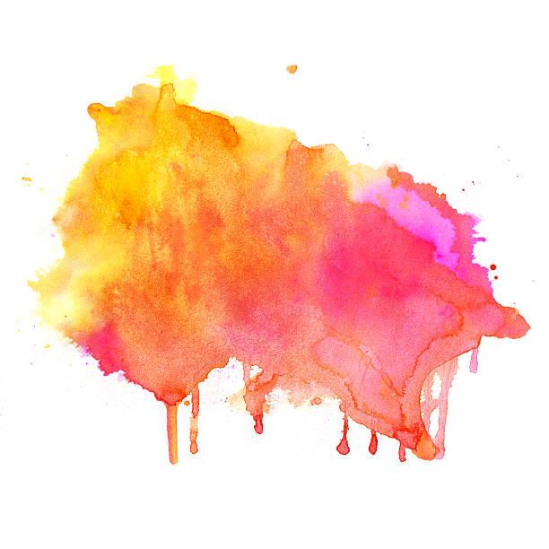 手描きの水彩バックグラウンド - ブラシ点のイラスト素材/クリップアート素材/マンガ素材/アイコン素材