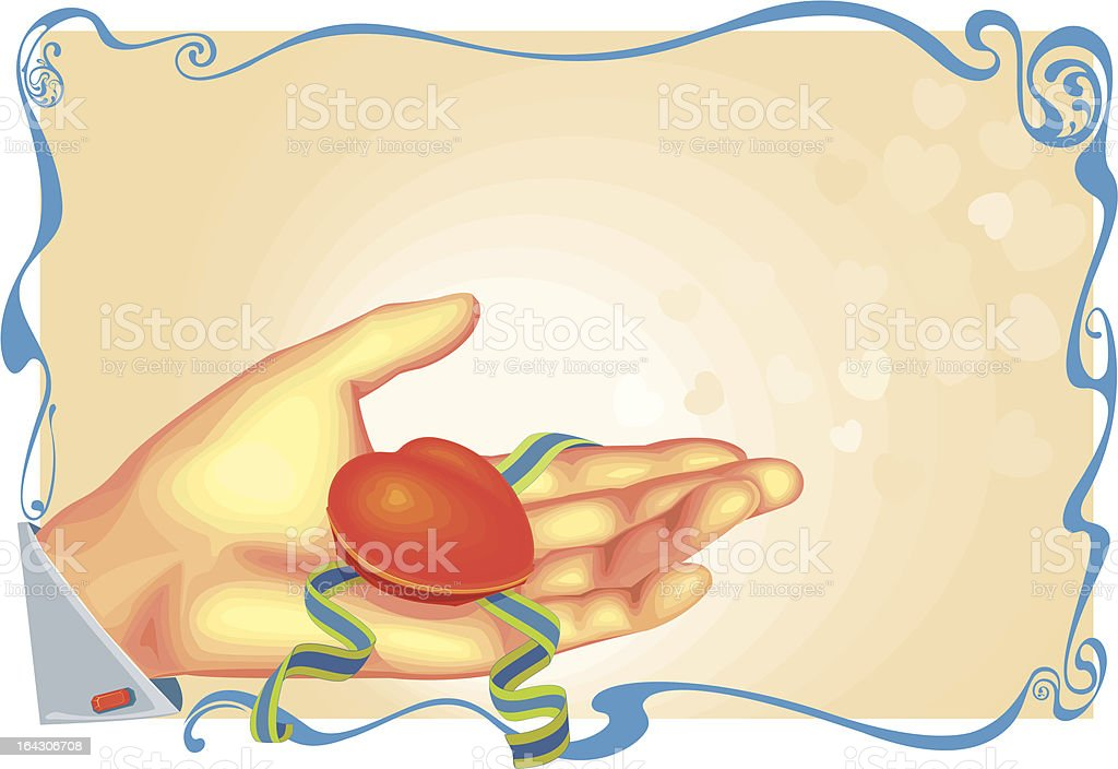 hand royalty-free stock vector art