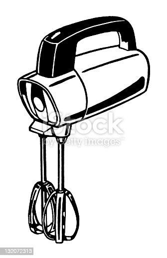Ilustración de Mezclador Manual y más banco de imágenes de