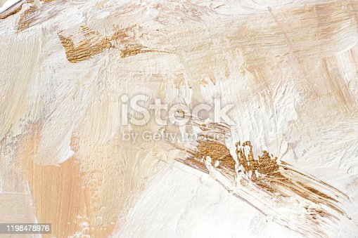 istock Hand painted background. 1198478976
