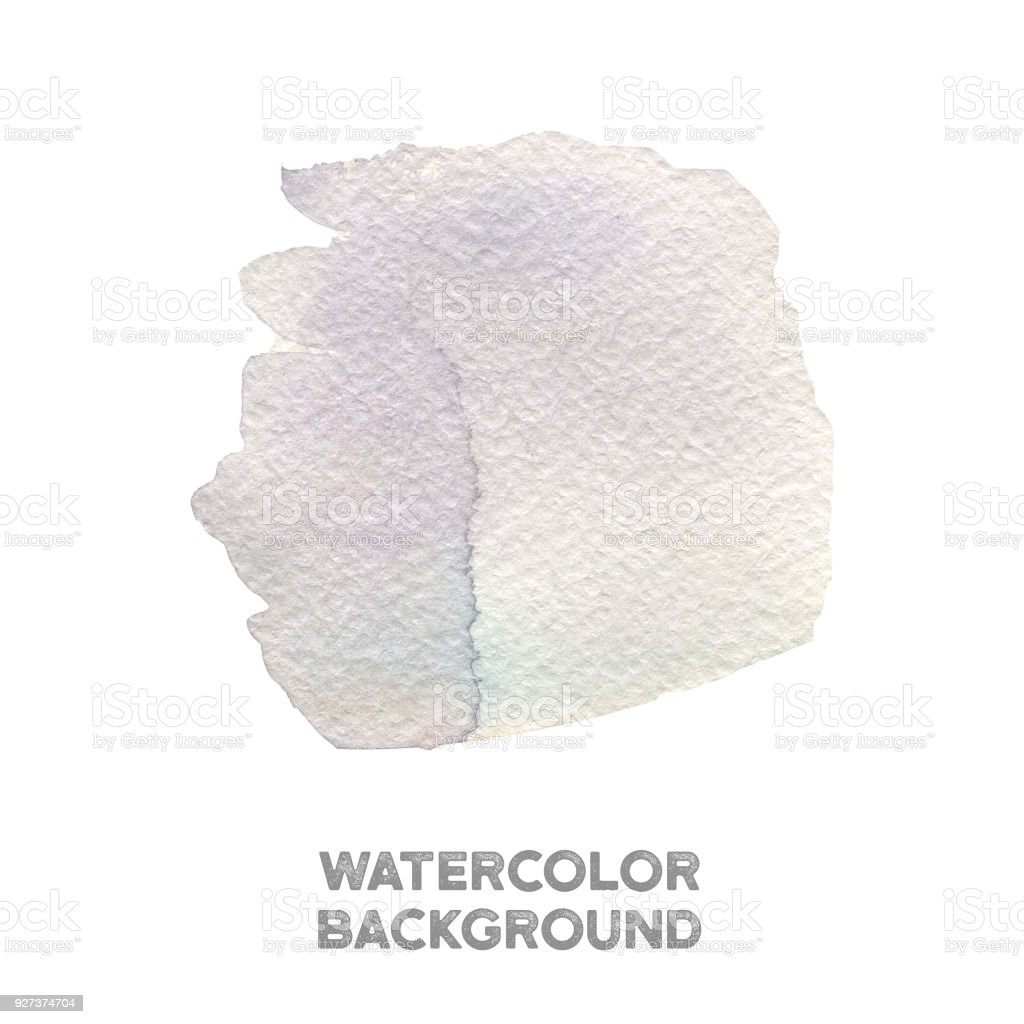 Hand painted violet and blue watercolor texture Hand painted violet and blue watercolor texture on white Abstract stock illustration