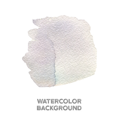 Hand Painted Violet And Blue Watercolor Texture Stock Illustration - Download Image Now