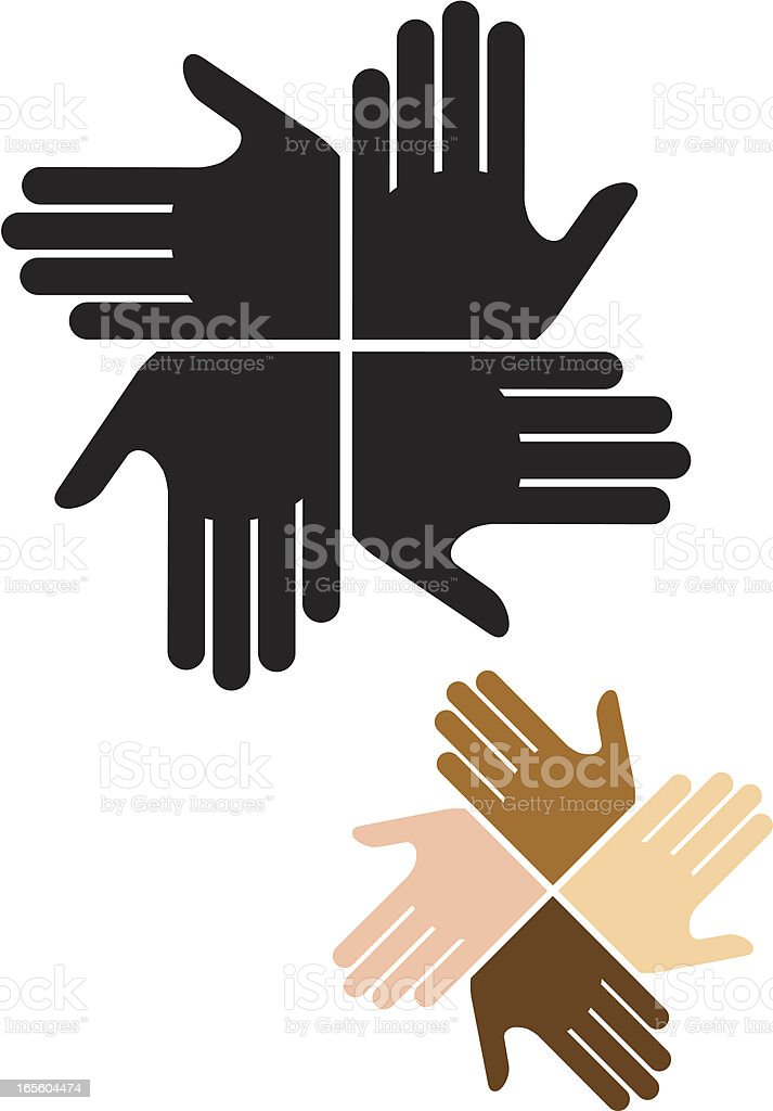 Hand symbols two. royalty-free hand symbols two stock vector art & more images of badge