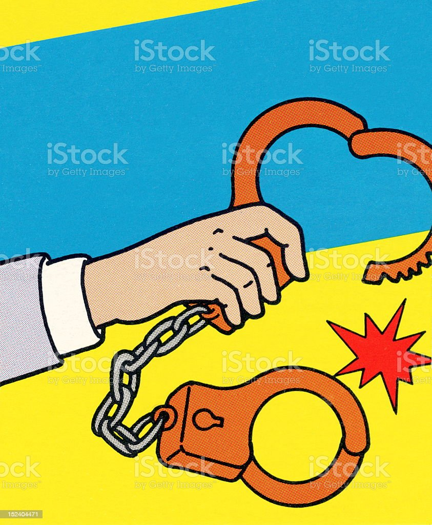Handcuffs royalty-free handcuffs stock vector art & more images of adult